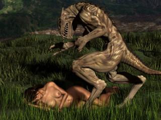 Slip XXX- 3D Alien Pornography Bevy
