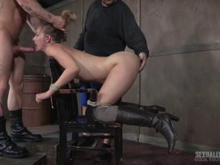 SexuallyBroken, RealTimeBondage - Mona Wales BaRS Part 2