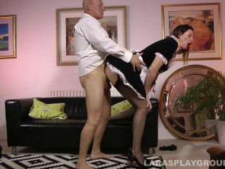 French Maid Gets Porked