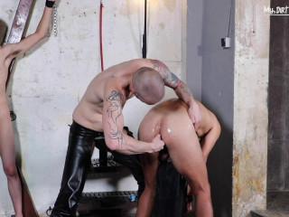 Opened and Abused - Scene 3 - AJ Alexander and David Luca - Full HD 1080p