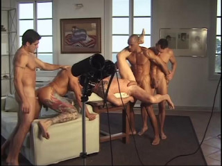 Gangbang Action With Hot Fuckers