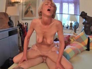 Grannie anal