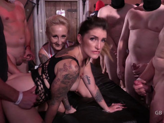 Madina Adreena Gangbang im Hamburg-Video 6