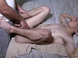 Rough Bastards - Mechanic Surrenders His Cherry Vulva