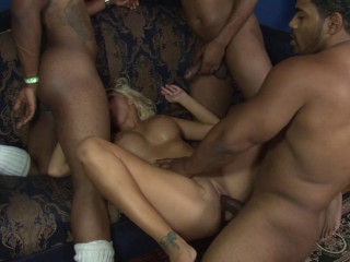 Black Gang Bang Party