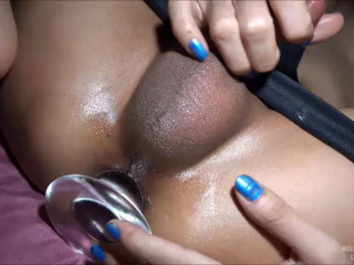 Bella - Piss, Rim, Stretch & Pushed In Creampie