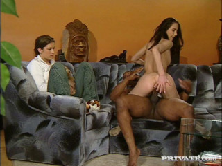 Patricia Diamond Celebrates Her Bday With Multiracial Anal