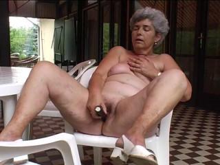 Granny at home...