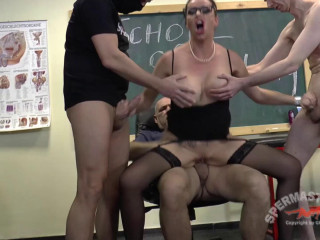 School Of Group sex Dacada Spermastudio 1080p