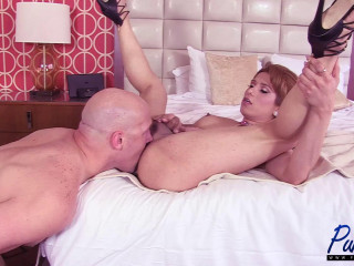 Muscly Latina Transsexual Liz Gets Wrecked Creampied gig 3 1080P