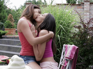 Ani Blackfox, Miki Torrez - Art Of Kissing Revisited Scene 3 - Explore FullHD 1080p