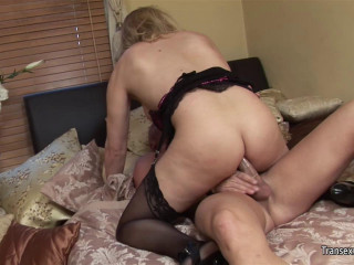 Alison Dale - Rock hard Pipe for Transgirl Alisin Dale
