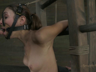 Ass fucked to orgasm, throat fucked into subspace