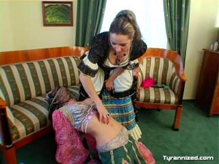 Submissive Belly Dancer Gets a Taste Of Domination