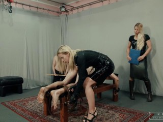 Cruel Punishments - Mistress Anette, Mistress Zita - Punishment institution XI - Parts 1-3