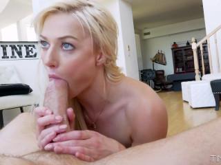 Morgan Rain - Small Blonde Handjob FullHD 1080p