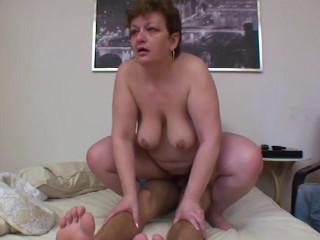 Grandmas a Total Slut