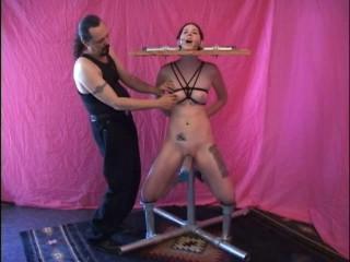 Real School Femmes In Restrain bondage