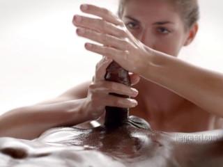 Charlotta - Salami Taunting Massage