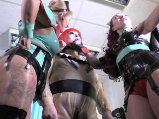 Mistress Erika and Julia - Pre Surgery Preparations - Bondage Pt 2