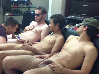 Straightboyz – Hookup 273 – Brendt, Jako and Jaxon Serviced Until They Shoot Their Hot Cum
