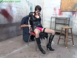 Hunterslair - Raquel Roper - Tormented  with cuffs and chains