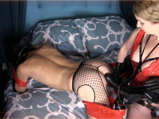 Domme T - Humungous Insatiable Butt Drill - HD 720p