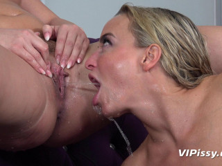 Cayla, Victoria Pure - Distracting With Piss