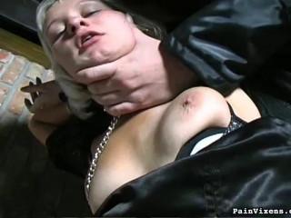 Painvixens - Dec 18, 2008 - Ash-blonde Captive Porked