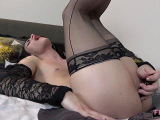 Bella Strokes And Cums!