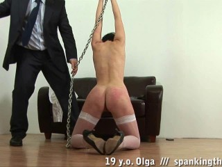 Lazy Schoolgirl Gets Spanking (Olga) Spanking Them