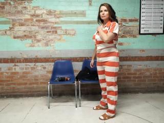 Gotcuffs - JJ arrested and put in chair part 3