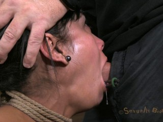 Sexually Cracked - Steamy Cougar with a deep throat, Giant puffies and shaven puss - Feb 13, 2013