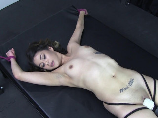 Stretched and Vibrated to Orgasm
