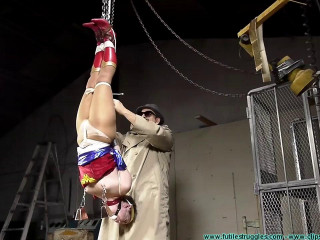 Woman Wonder is Professor Meat Paws Bondage Captive - Part 3