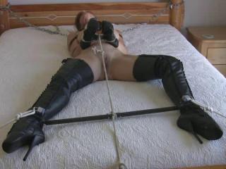 SI - Restrain bondage Fetish Girl