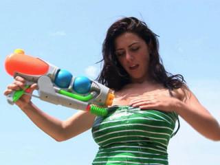 Anya Zenkova - Water Guns 1