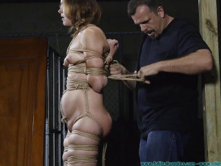 I Try Out My New M0Co Jute and Hood on Rachel 2 part - Extreme, Bondage, Caning