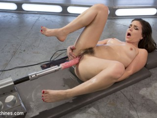 Romp Crazed Slut Gets Machine Plumbed and Corded Up