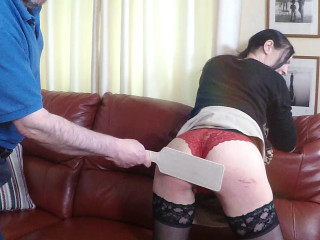 English-spankers - Bend over Im paying