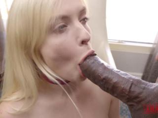 Hard Anal For Amazing Blond Slut Giselle Palmer