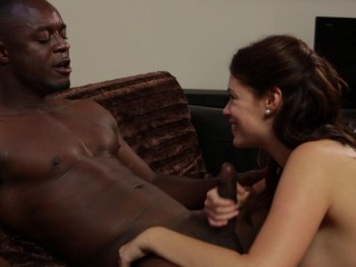 Ava Dalush - Tight Fuckhole Packed Raw Muff Stuffed With Gigantic Ebony Man-meat FullHD 1080p