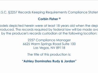 Ashley predominates rudy and jordan
