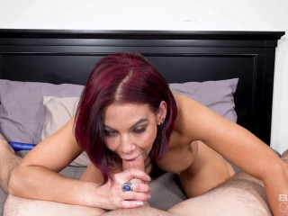 Anna Bell Peaks Gets Rammed Down By Two Cocks FullHD 1080p