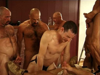 Hard Orgy With Mature Pigs