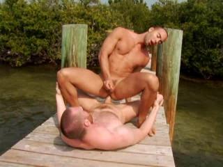 Interracial Dude Island - Marco Paris, Mario Perez, Rafael Alencar