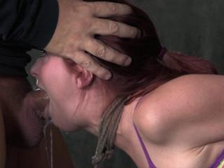 Penny Pax takes on thick ebony man rod
