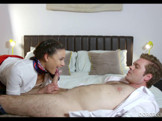 Cassie Del Isla - The Stewardess Meets The Captain FullHD 1080p