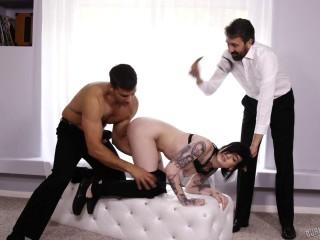 Ramon Nomar, Nikki Hearts, Steve Holmes - Double Anal FullHD 1080p