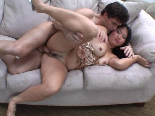 Japanese MILF banged rigid and rough